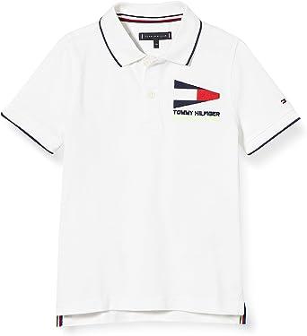 Tommy Hilfiger Badge Polo S/s Camisa para Niños: Amazon.es: Ropa y accesorios