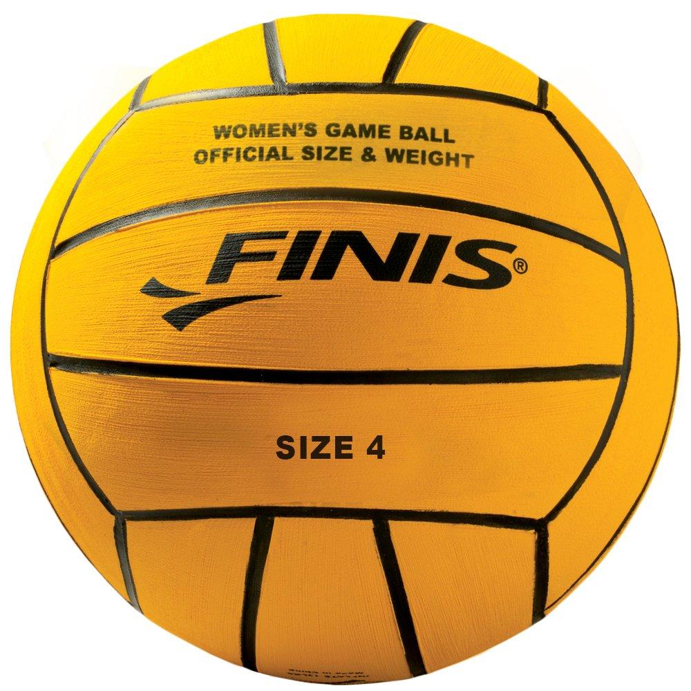 Finis Womens Pallone da Pallanuoto, Giallo Inc 6.25.007.49