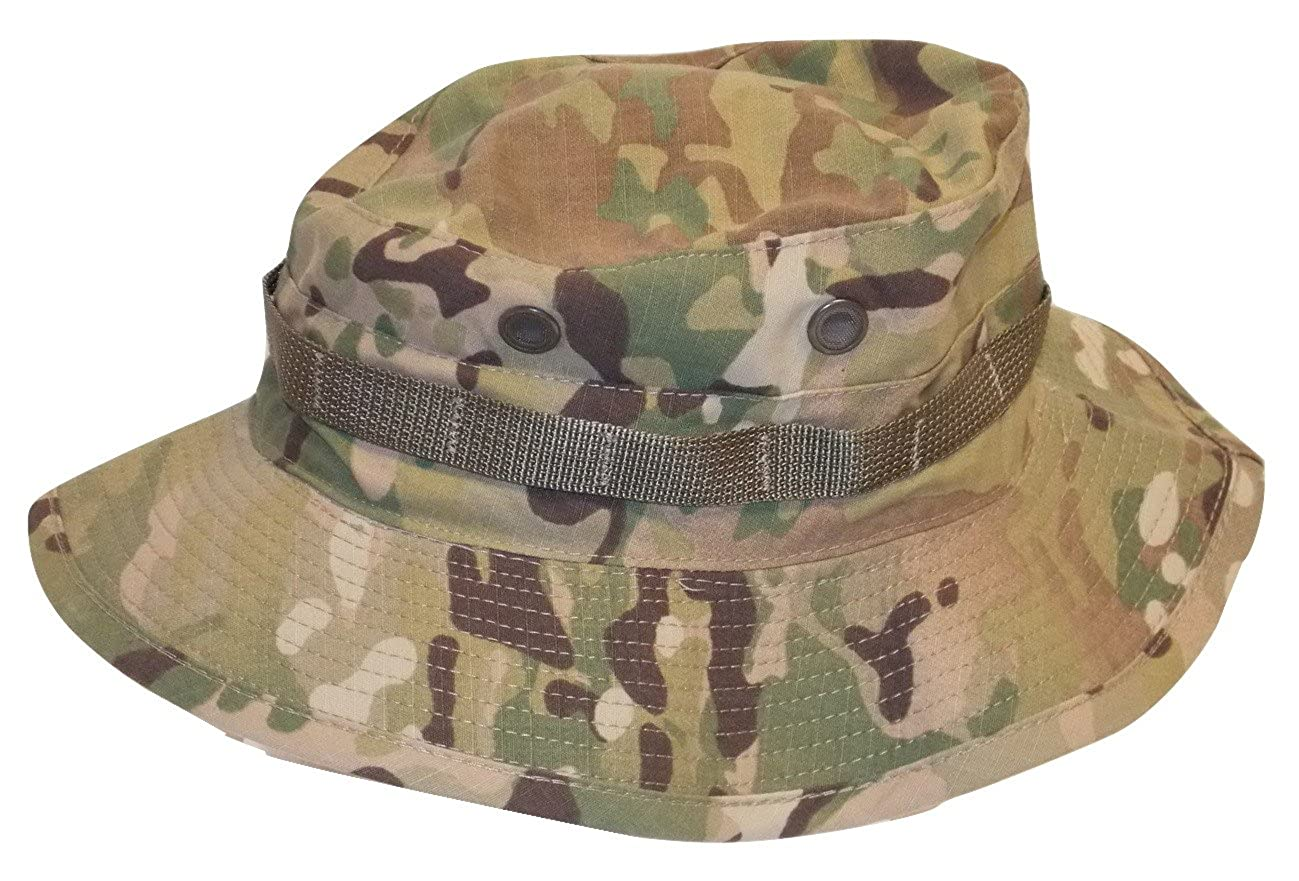 2b11afa83a0 US Army Issue Multicam OCP Boonie Cap Bush Hat Sun HOT Weather (7-5 8) at  Amazon Men s Clothing store