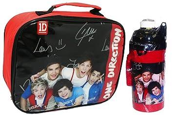 42261b6e721b Amazon.com : Kids Girls One Direction 1D Lunch Box Set, Lunch Bag ...