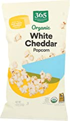 365 by Whole Foods Market, Organic Popcorn, White Cheddar, 4 Ounce