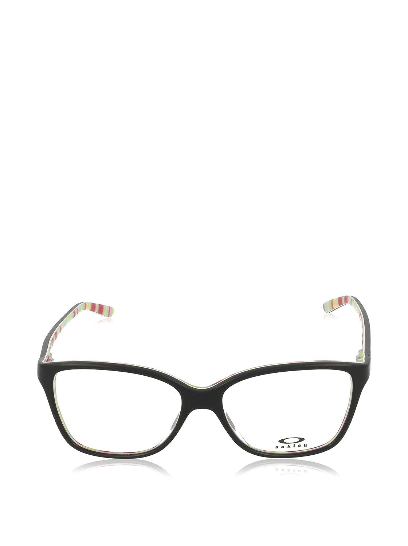 65d79ffb17 Amazon.com  Eyeglasses Oakley Frame OX 1126 112603 POLISHED BLACK YELLOW  STRIPES  Clothing