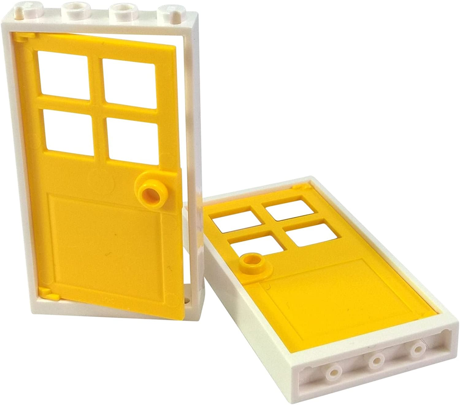 Lego New White Glass for Windows 1 x 4 x 6 Pieces