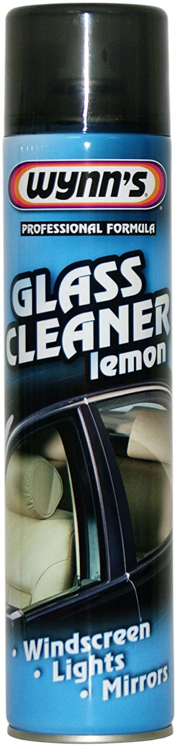 Wynns Glass Cleaner (Lemon) 600ml WY11479 Automotive Accessories Hand Tools Mechanics and Automotive Tools Valeting Accessories