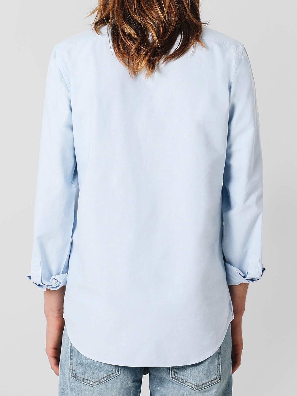 Scalpers NOS POLERA Shirt - Camisa para Hombre, Talla 37, Color Celeste: Amazon.es: Ropa y accesorios