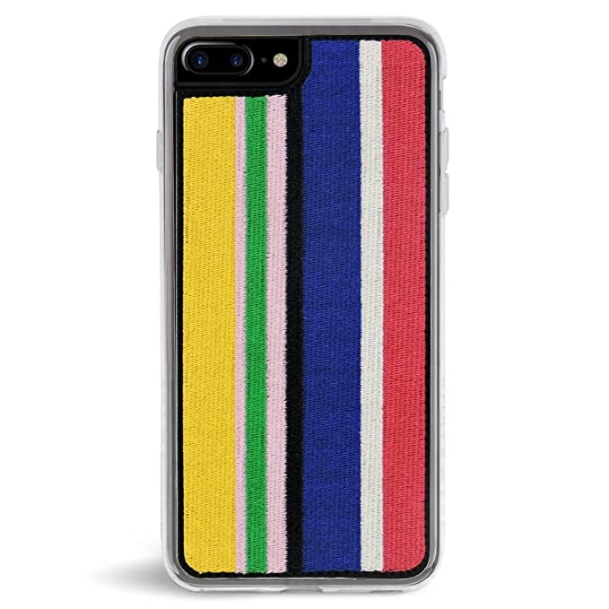 quality design e7a74 0aa68 Zero Gravity Apple iPhone 7 Plus / 8 Plus Runway Phone Case - Embroidered  Stripes - 360° Protection, Drop Test Approved