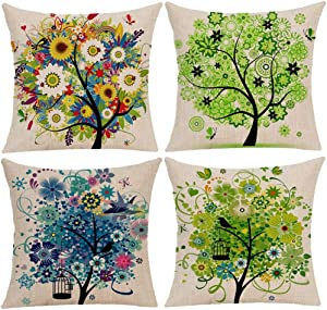 Win A Free Wilproo Colorful Tree Throw Decorative Pillowcases
