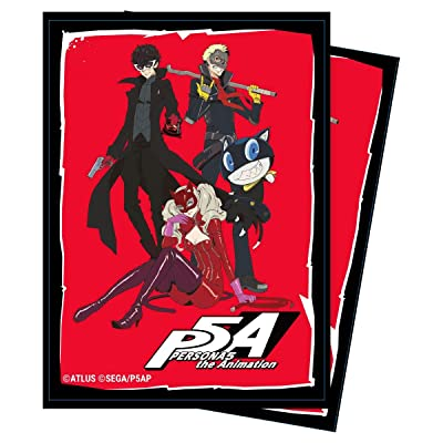Ultra PRO Persona 5: The Phantom Thieves Deck Protector Sleeves (65 ct.) for Magic & Pokemon: Toys & Games