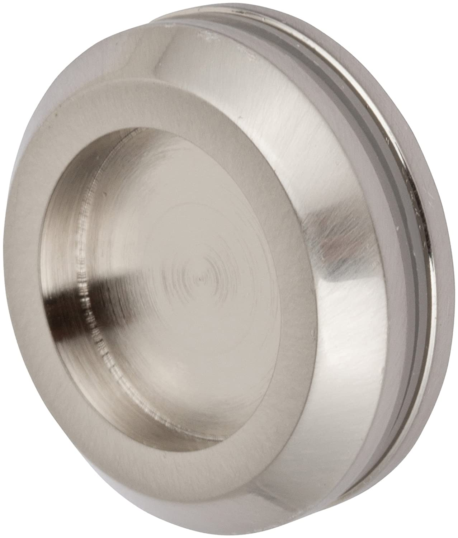 Rockwell Sliding Shower Door Finger Pull for Towel Bar in Brushed Nickel Finish, Durable commercial & residential, door hardware, door handles, locks 85%OFF