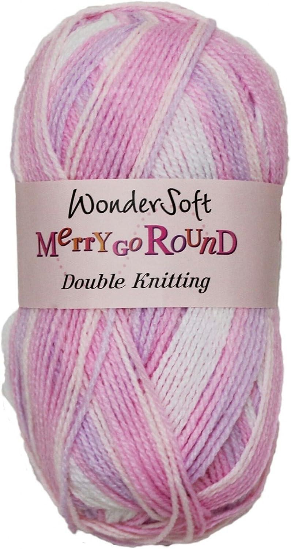 1001 Snow White 100g Yarn Wondersoft Baby DK Wool Stylecraft