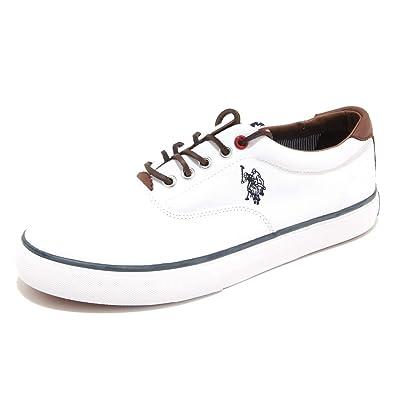 Polo Ralph Lauren - Zapatillas de Lona para Hombre Blanco Blanco ...