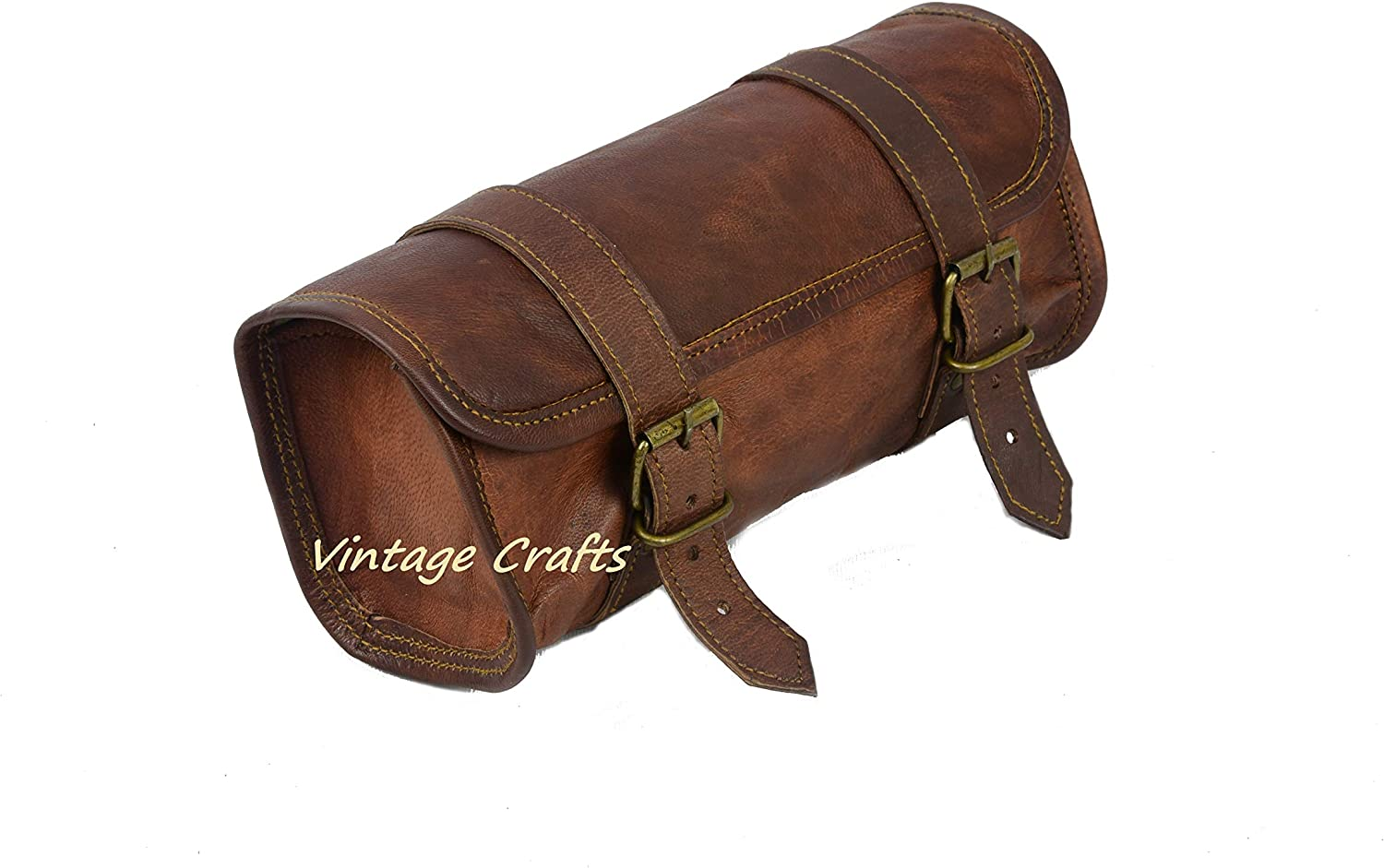 Genuine Leather Clasps Handles Replacement Briefcase Satchel Bags Black New