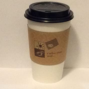 Brown Paper Coffee Cup