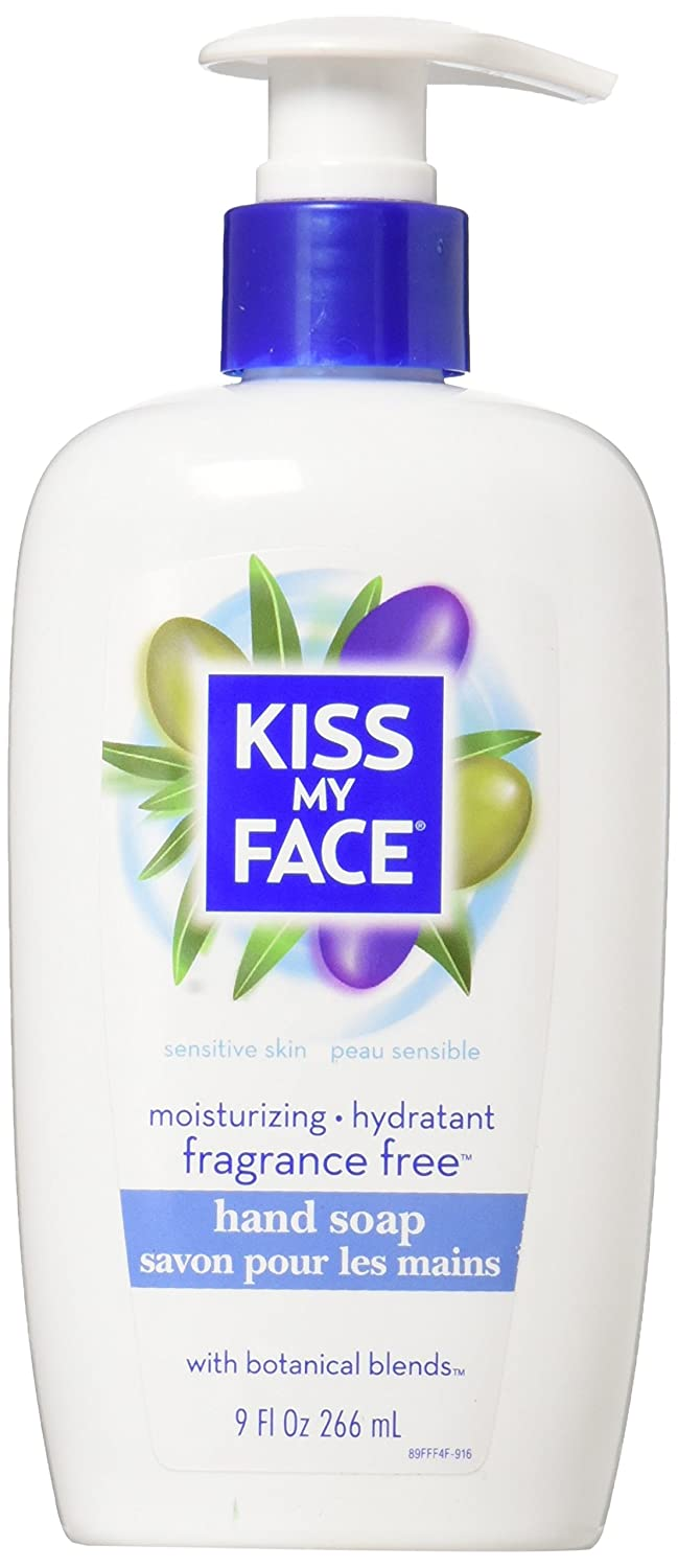 Kiss My Face Hand Soap Fragrance-Free 9oz Pump