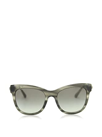af7d3f337e2d Giorgio Armani Women s 8011 Striped Grey Frame Grey Gradient Lens  Metal Plastic Sunglasses