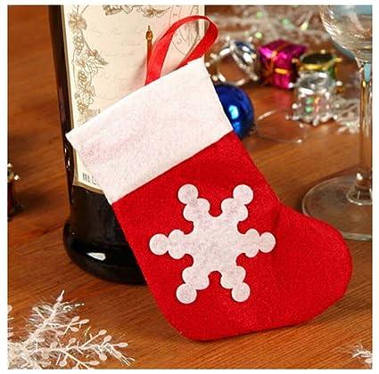 MAXGOODS 12Pcs Cubertería Traje Xmas Decoración Mesa Cena Vajillas Bolsas de Cuchillos Tenedores Cucharas Navidad Adorno