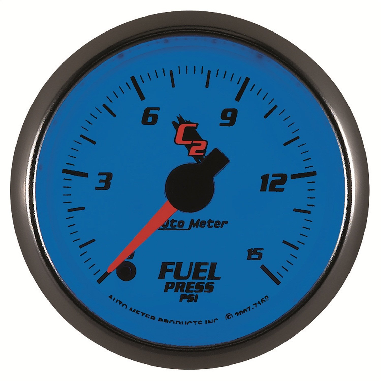 Auto Meter 7162 C2 Electric Fuel Pressure Gauge