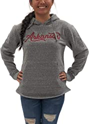 11d7122b Arkansas Razorbacks Womens Long Sleeve Hoodie; Pullover University Apparel  Clothing