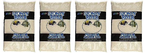 Stoney River White Aquatic Sand Freshwater and Marine Aquariums, 5-Pound Bag (F?ur Pa?k) (Tamaño: F?ur Pa?k)