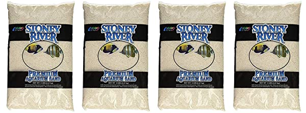 Stoney River White Aquatic Sand Freshwater and Marine Aquariums, 5-Pound Bag (F?ur Pa?k) (Tamaño: F?ur Pa?k)