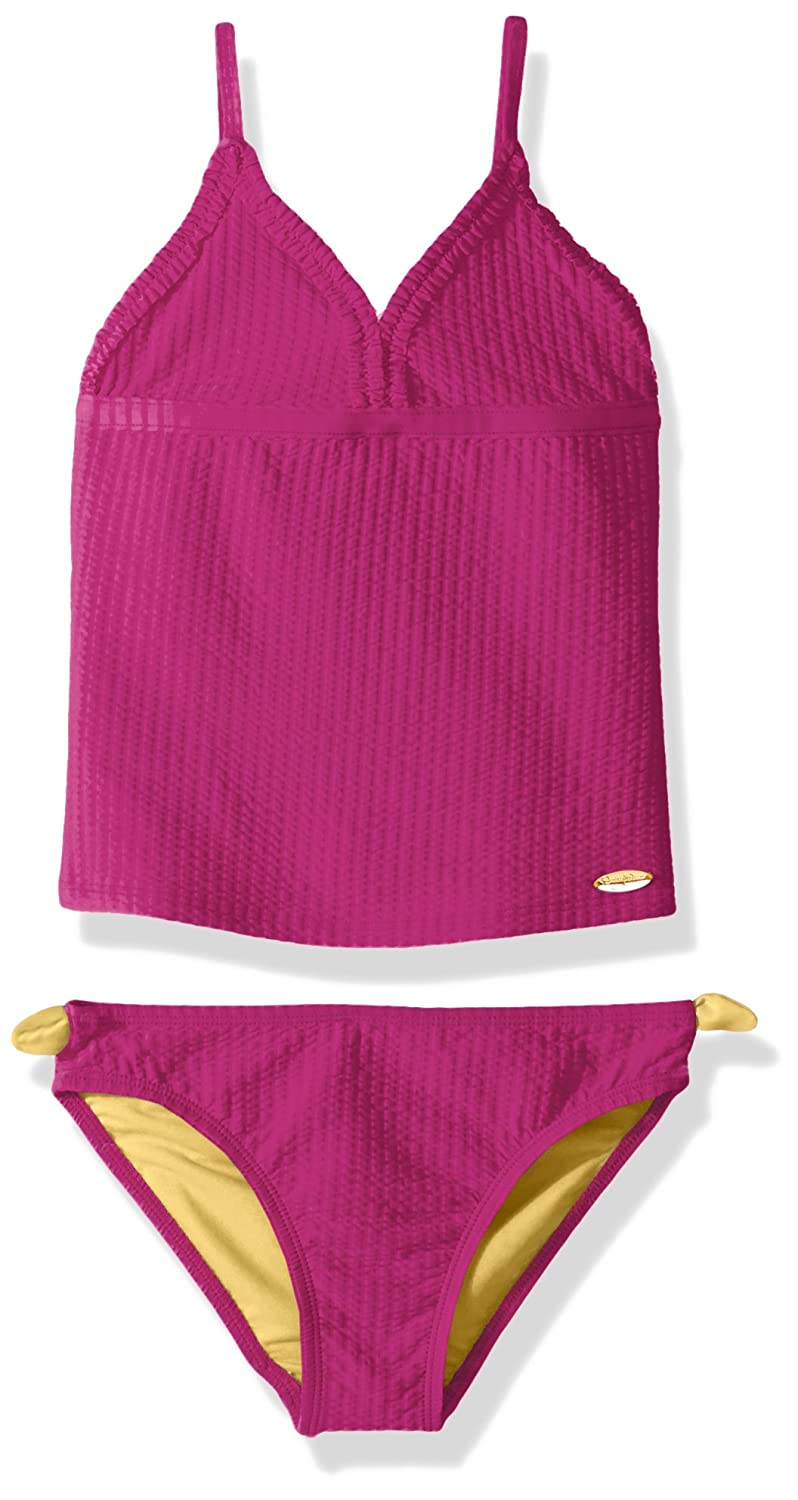 Jessica Simpson Girls' Two-Piece Tankini Swimsuit Set