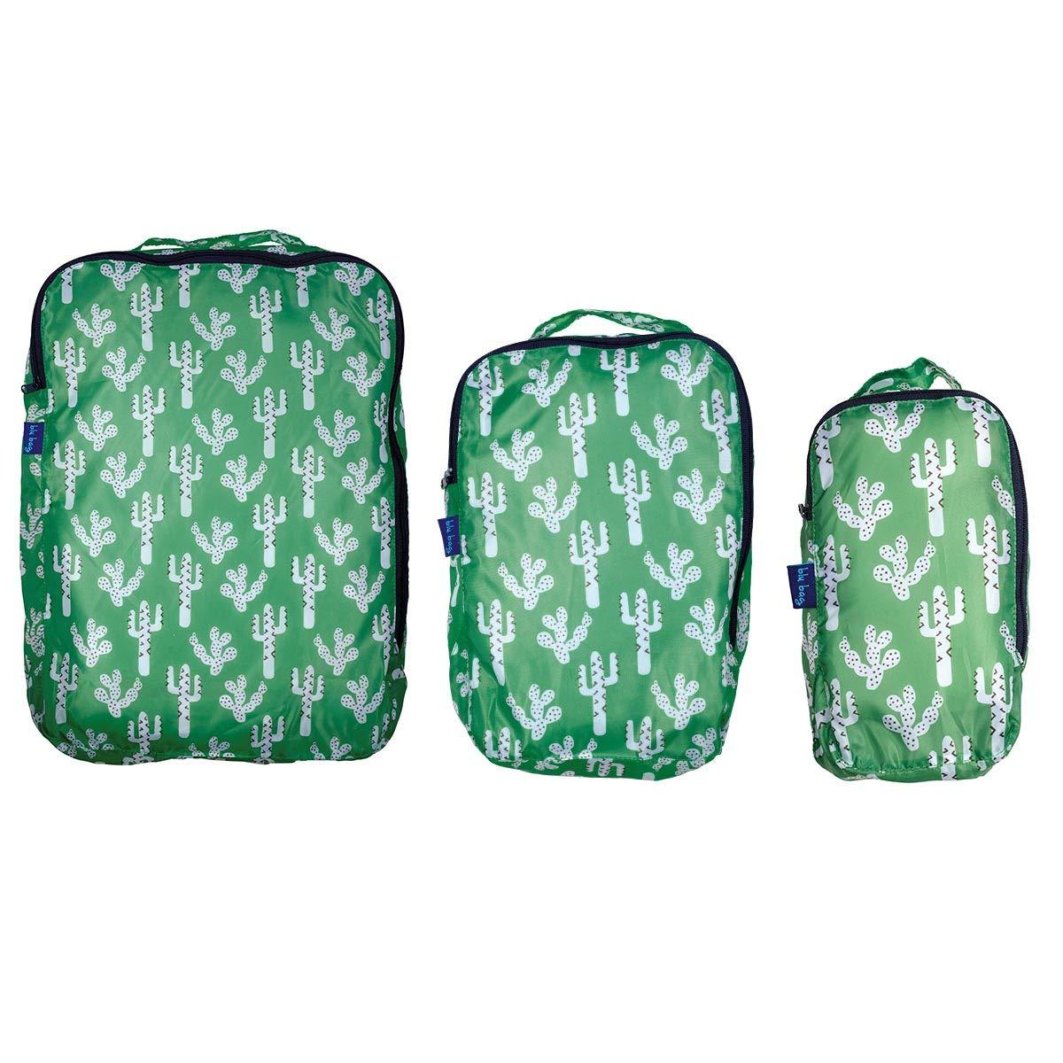 Amazon Com Rockflowerpaper Cactus Green Blu Bag Travel Packing