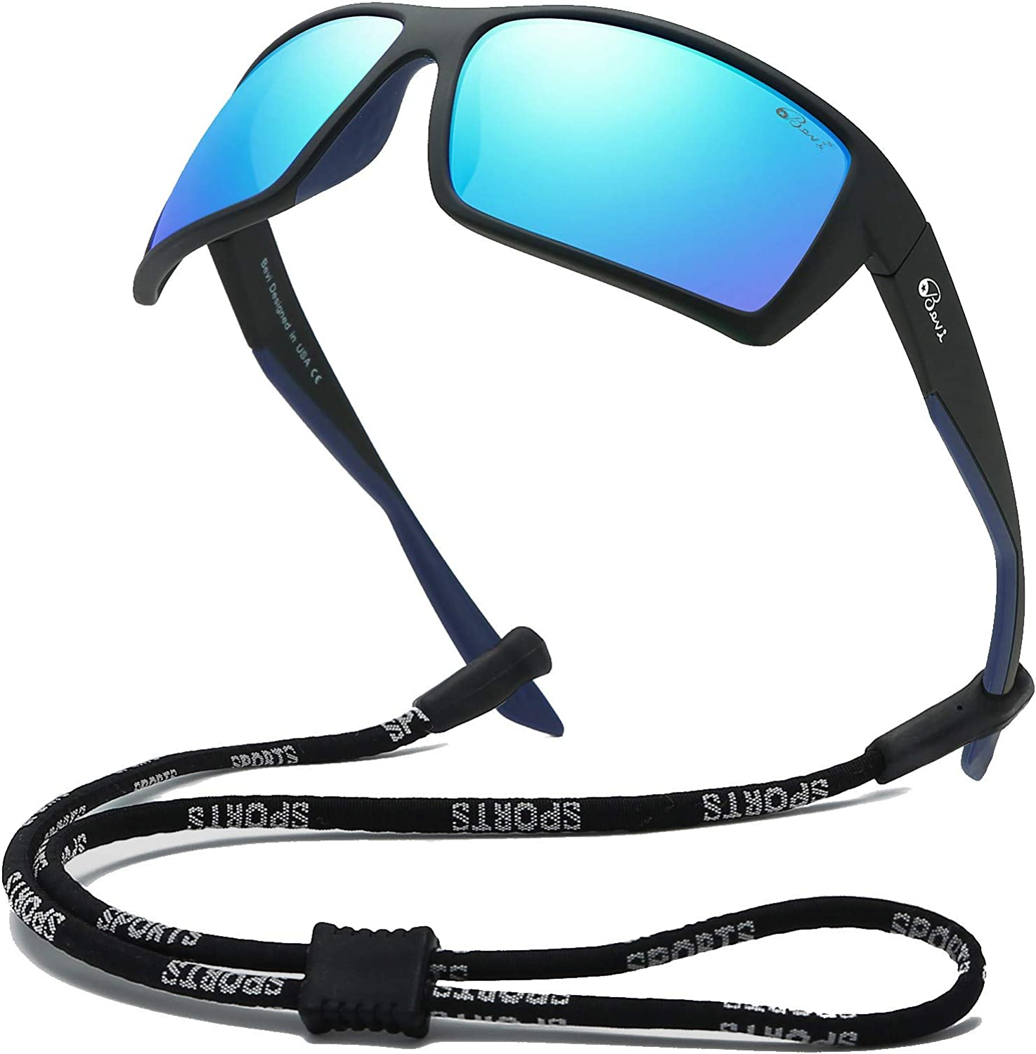 Goonk Polarized Sports Sunglasses Lightest Comfortable for Running Driving Baseball Cycling Men Women Teens Youth