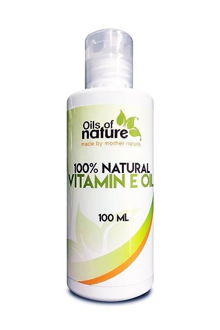 Aceite Natural de Vitamina E – Método Natural de Extracción con Presión en frío – Ideal