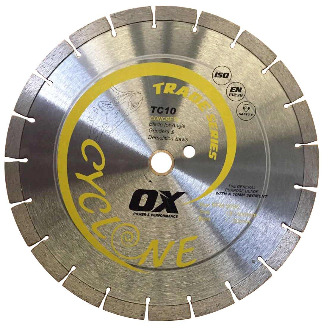 OX Tools 12'' General Purpose Diamond Blade | 1-20mm Bore