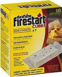 duraflame Firestart CUBES Firelighters, 18 pack