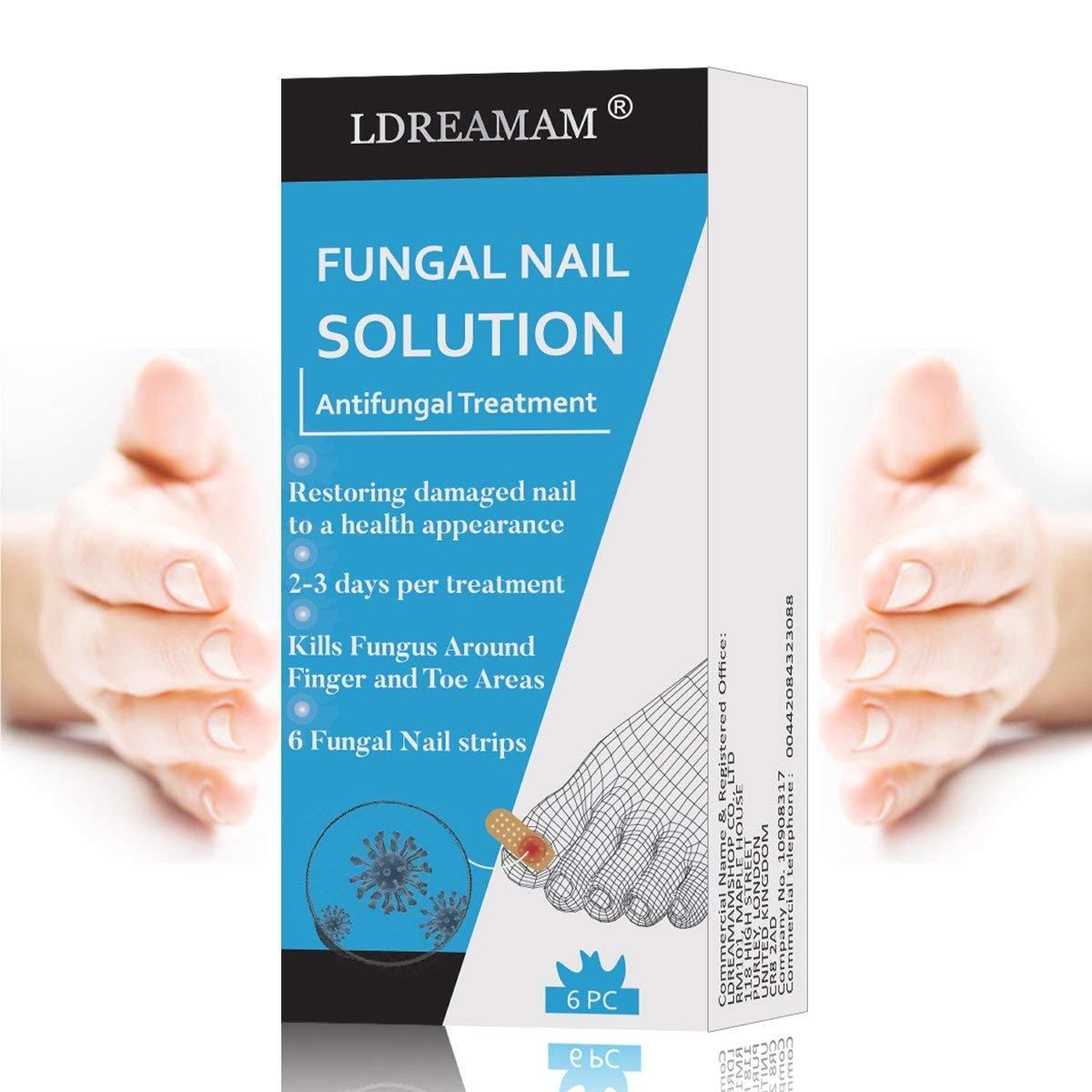 Nail Fungus,Antifungal Nail Treatment,Toenail Fungus Treatment,Antifungal Nail Gel,Removal of Fingernail and Toenail Fungus by LDREAMAM (Image #6)