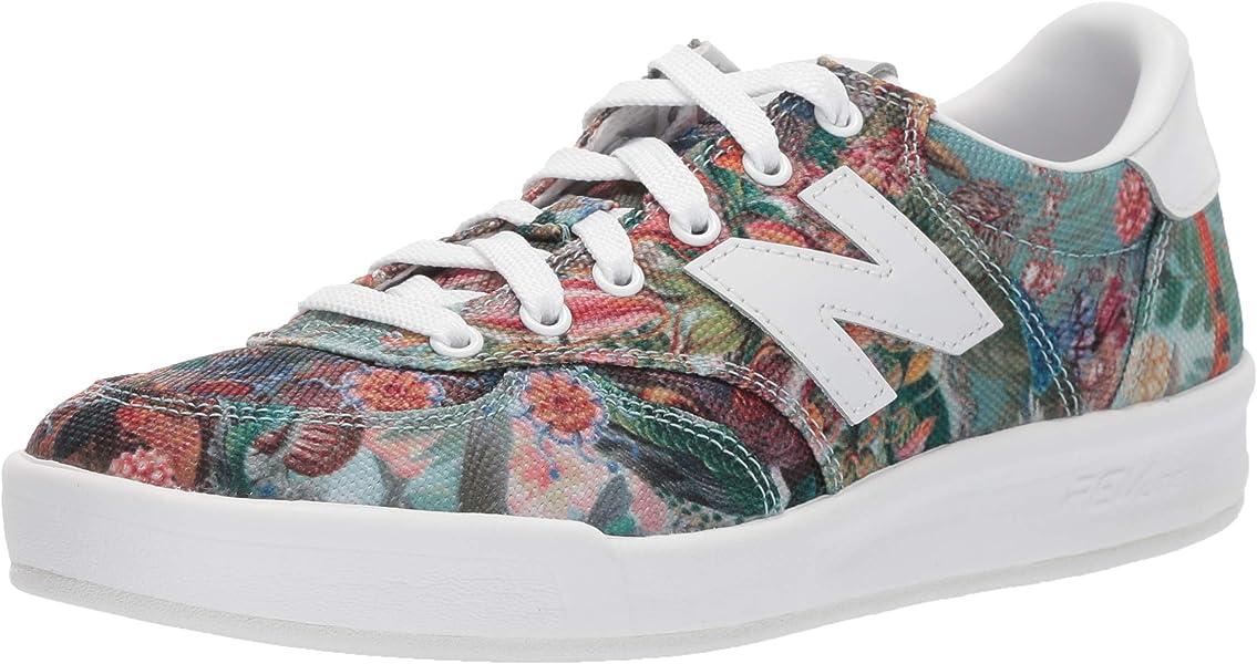 Women's 300v1 Court Sneaker PrintWhite 7 B US