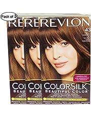 Revlon Hair Color Medium Golden Brown(43) (Pack of 3)