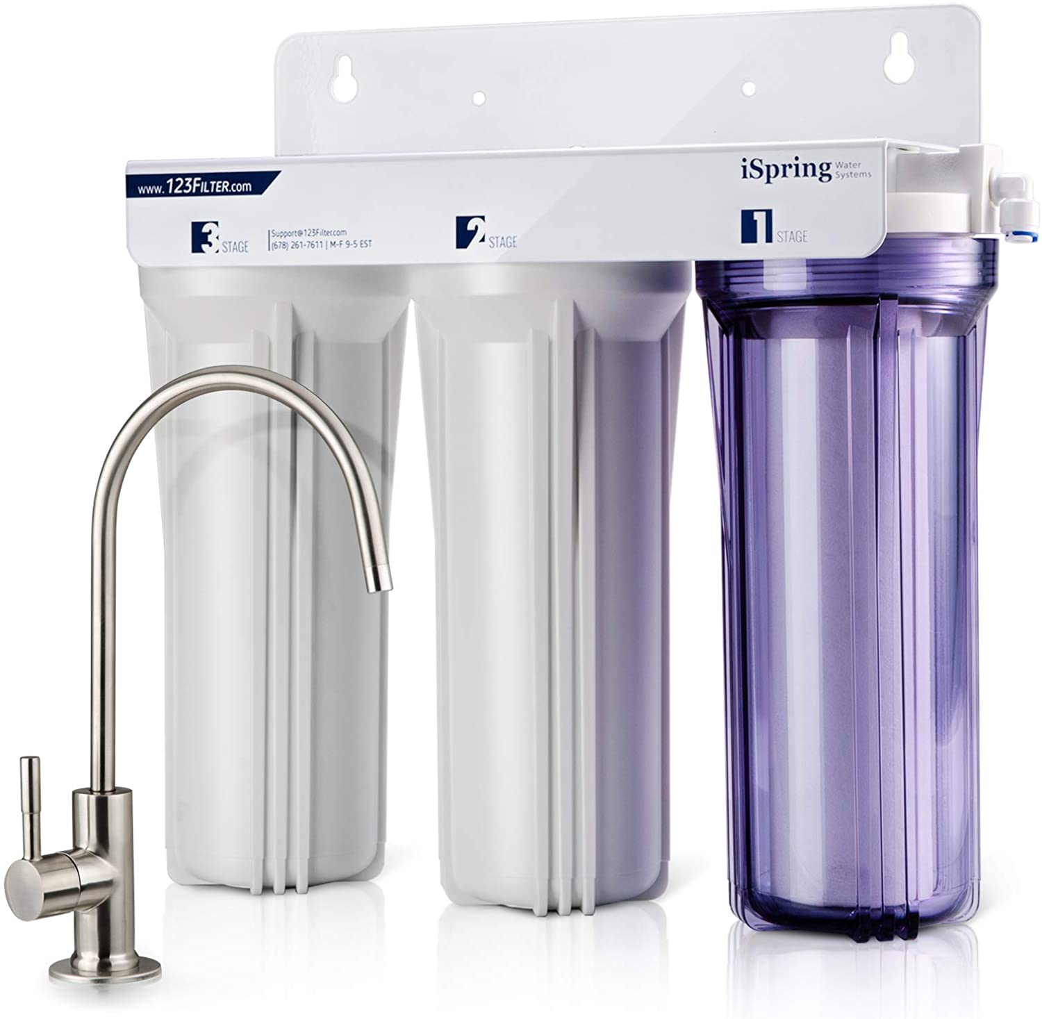 iSpring US31 3-Stage Under Sink Water Filter