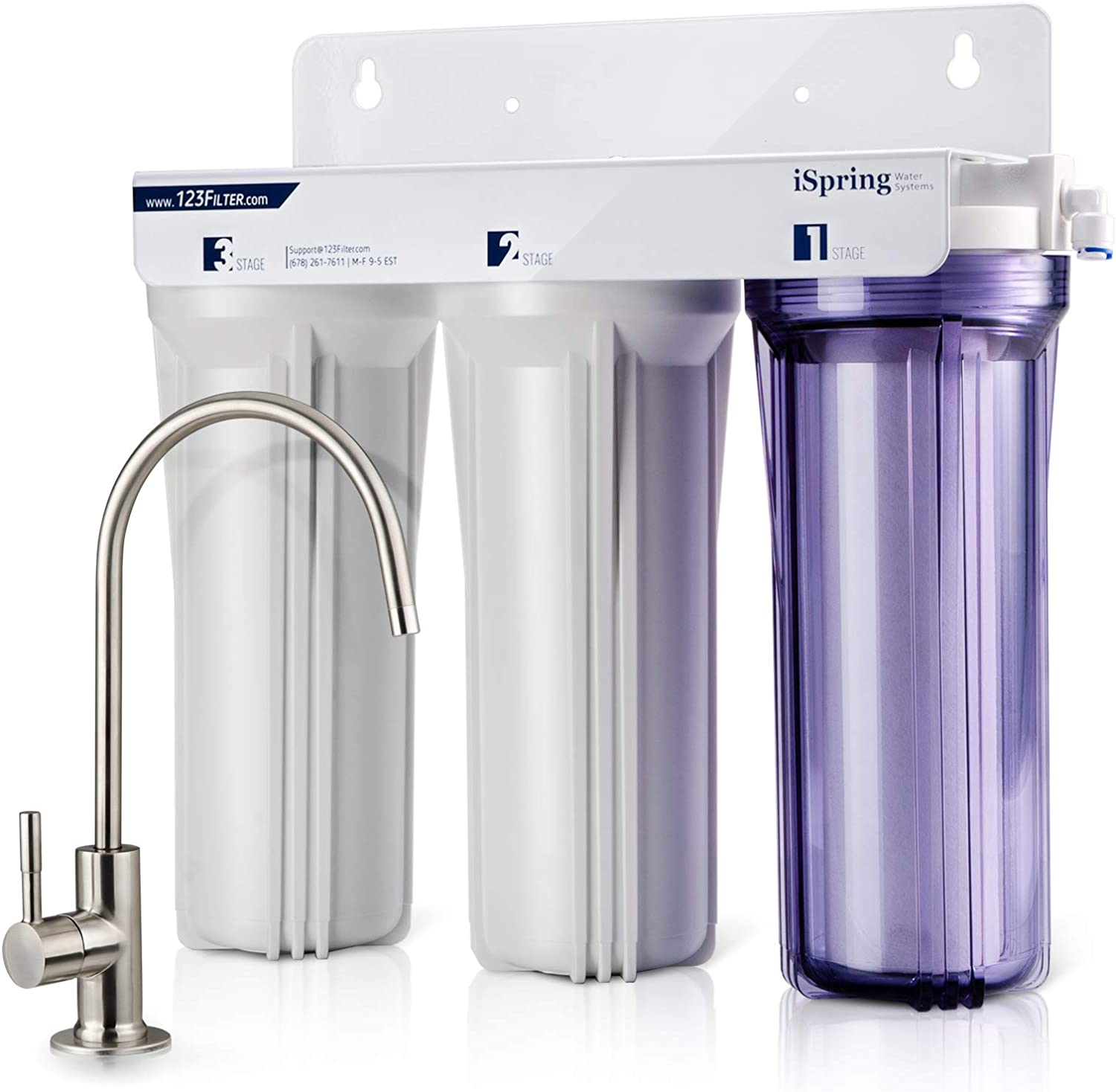 iSpring US31 3-Stage Under Sink Water Filter Reviews
