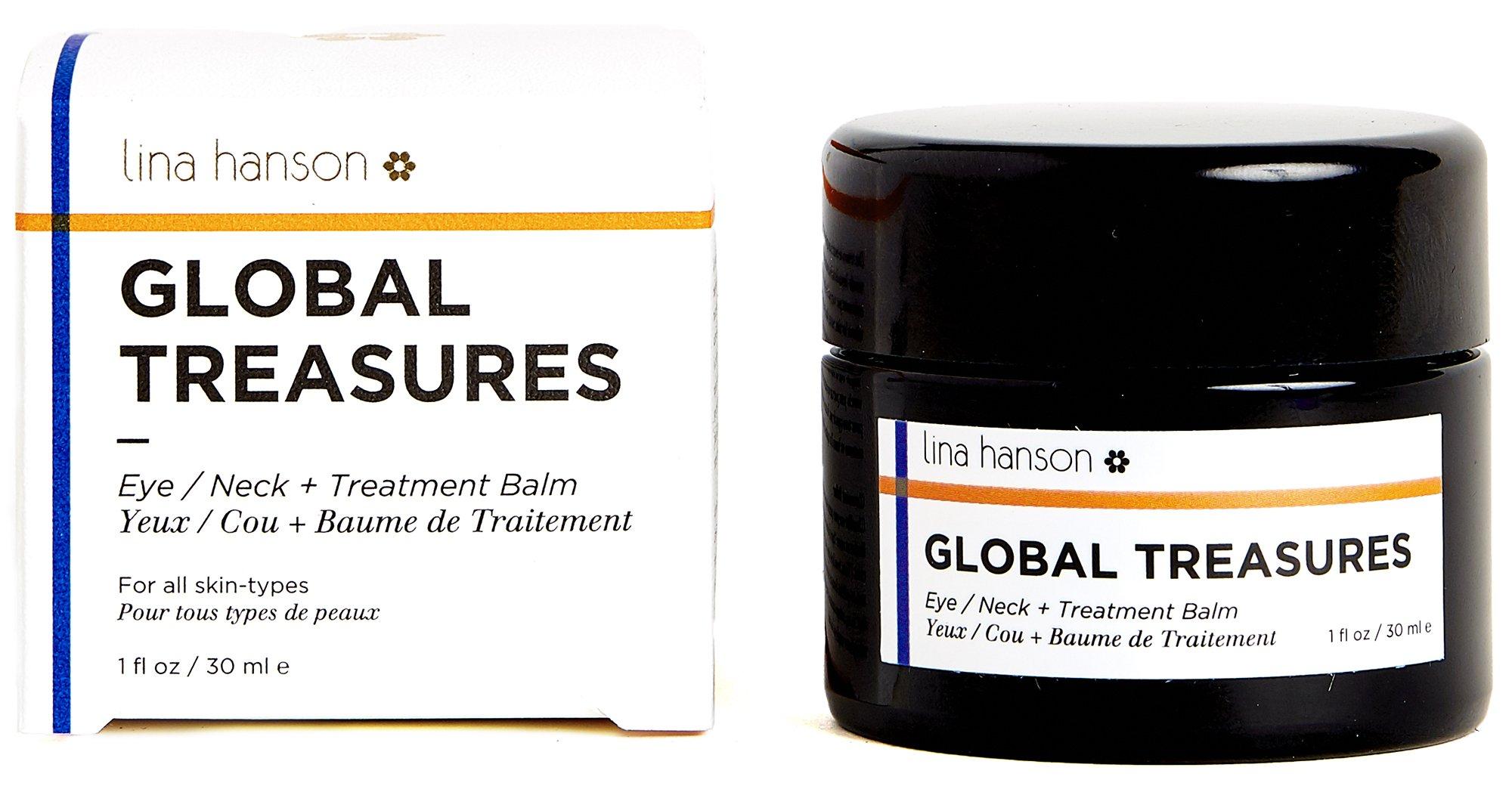 Lina Hanson - Organic Global Treasures (Eye / Neck + Treatment Balm, 1 fl oz / 30 ml)