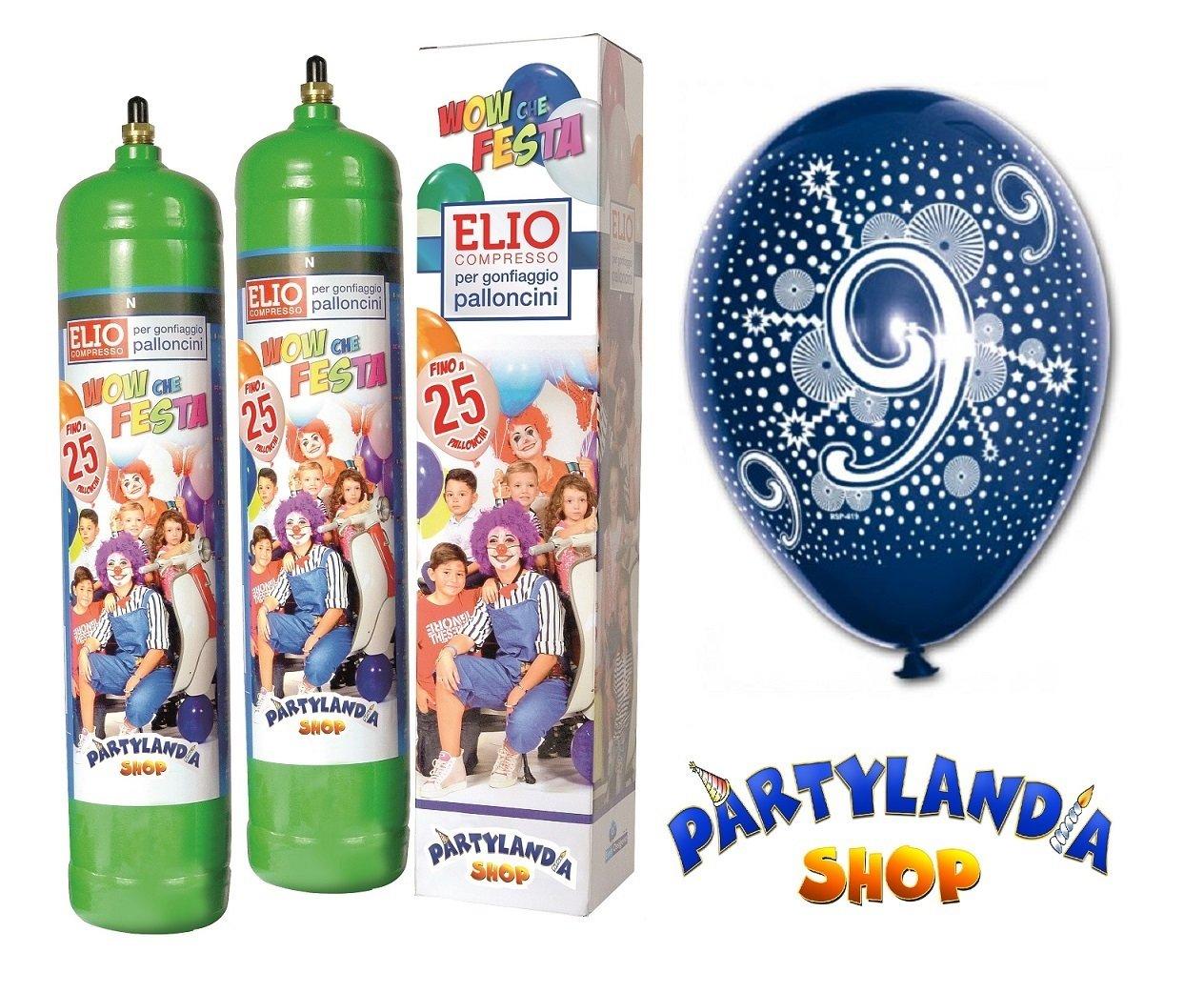 Descuento del 70% barato Kit bombonas gas helio + + + Globos número 9 cumpleaños  disfruta ahorrando 30-50% de descuento