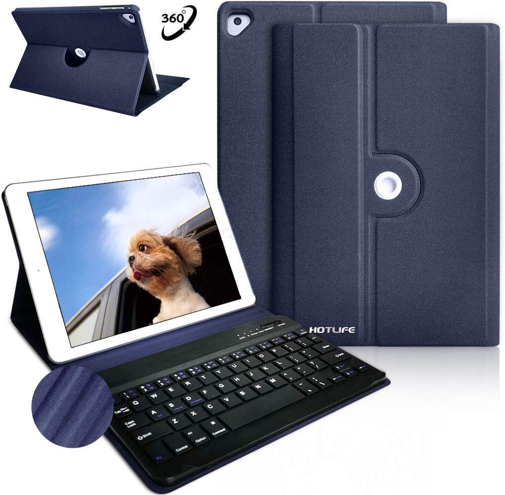 Funda con teclado para iPad 6ta Generacion 2018...-JWJB