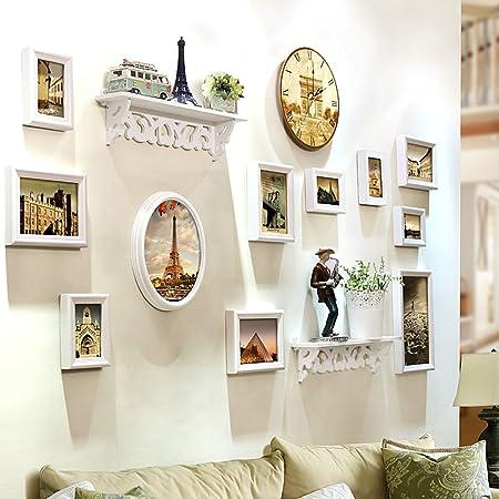 Decorative frame DIY Photo Frame Sets For Wall, Living Room Photo ...