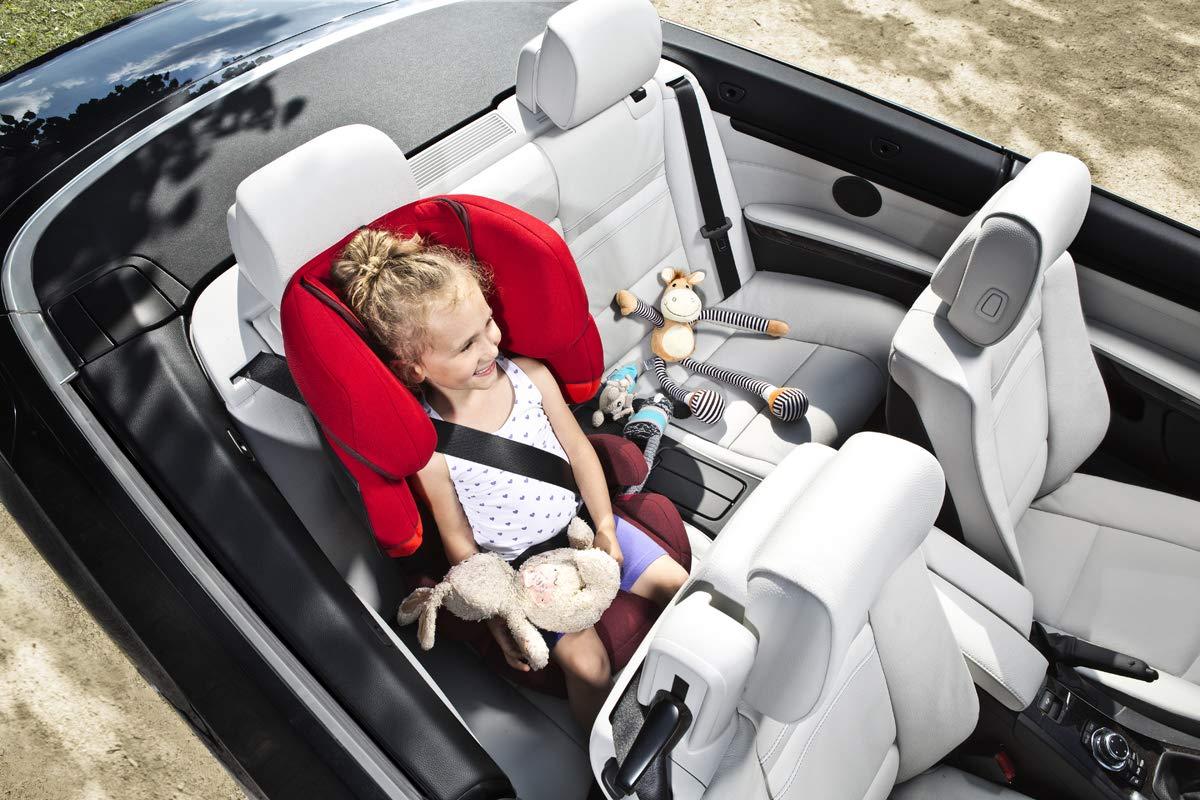 Rumba Red da 3 Fino a 12 Anni circa Per Auto Con e Senza Isofix Gruppo 2//3 CYBEX Silver Seggiolino Auto per Bambini Solution X-Fix Rosso 15-36 kg