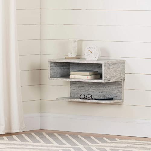 South Shore Furniture Sazena Floating Nightstand