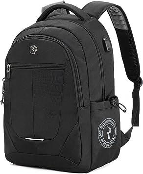 Large Backpack Women Swiss Mens Anti Theft Backpack USB Notebook School Travel Bags Waterproof Business 15.6 17 Inch Laptop Backpack Women,black,17inch
