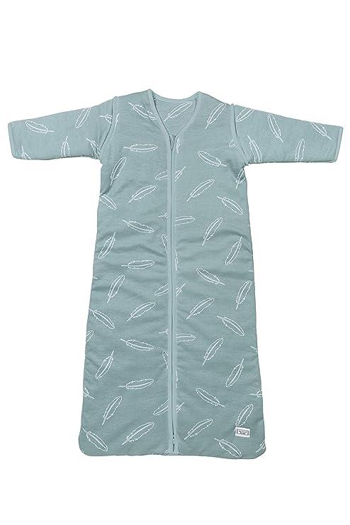 Meyco 513151 ganzjahres Saco de dormir plumas Jade, 70 cm, color turquesa