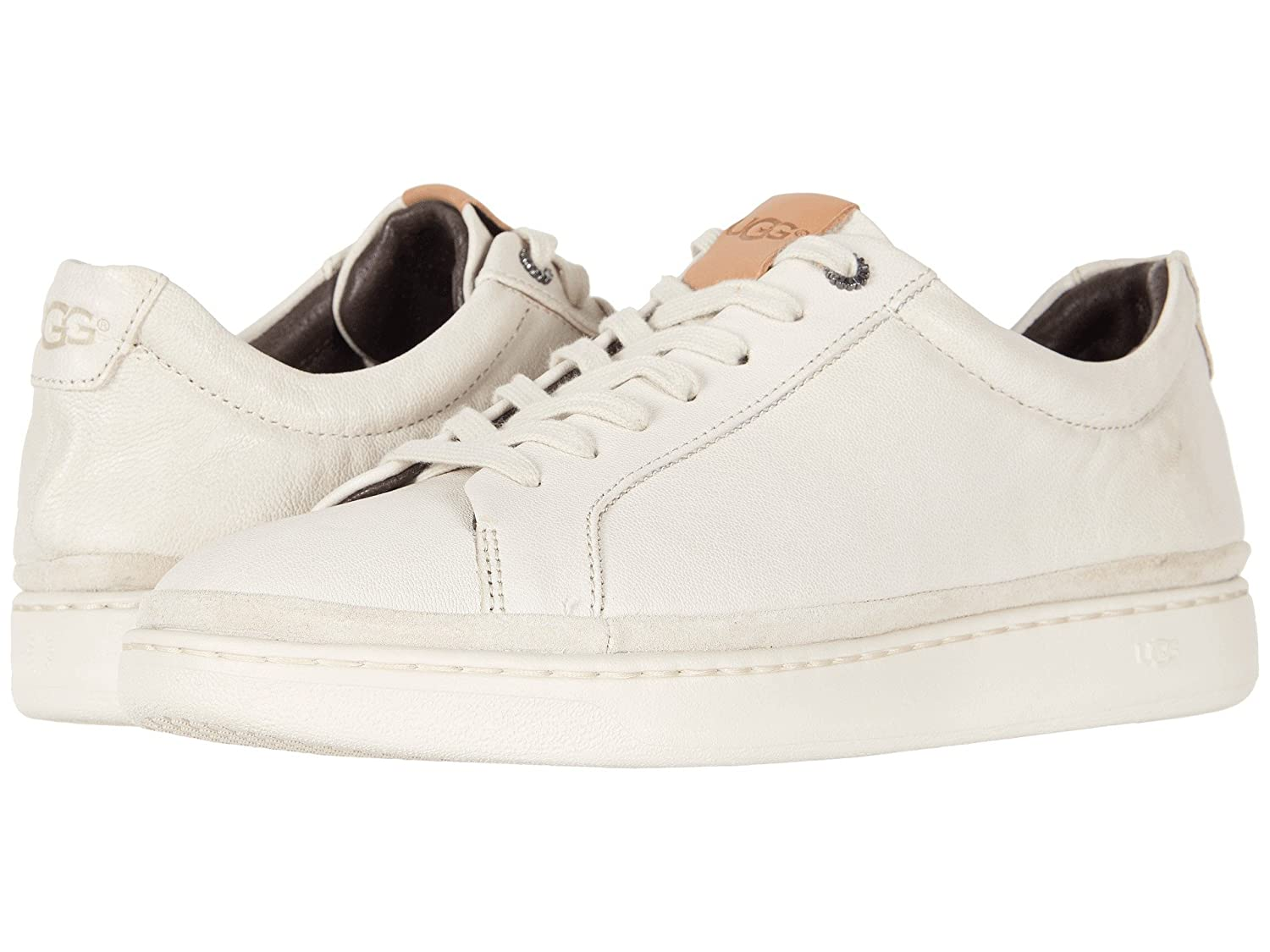 [UGG(アグ)] メンズレースアップシューズスニーカー靴 Cali Sneaker Low B07DP783CW 7 (25cm) D - Medium Parchment Leather