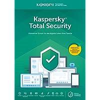 Kaspersky Total Security | 3 Geräte | 1 Benutzer | PC/Mac | Jährliches Abonnement