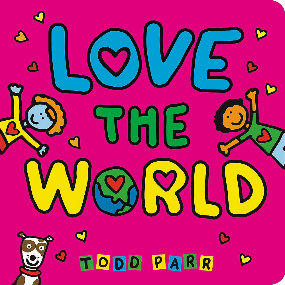 Image result for love the world parr book cover