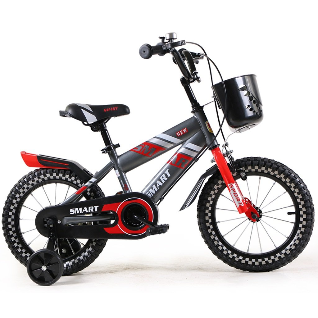 子供の自転車2-4歳の男の子と女の子マウンテンバイク12インチの赤ちゃんの車輪、赤/青 ( Color : Red ) B07BX6JV8Q