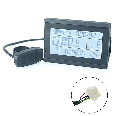 bmc-tech Display Board Computer KT-LCD3 velocímetro 24V 36V 48V ...