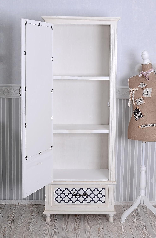 Bezaubernd Garderobenschrank Weiß Das Beste Von Vintage Schrank Shabby Chic Kleiderschrank Weiss Wäscheschrank