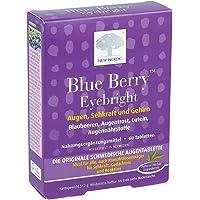 Blue Berry Eyebright, 60 pièces comprimés